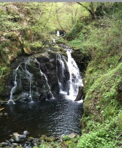 Water Fall at Glenariff Forest Park.