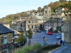 Holmfirth in West Yorkshire home of Last of the Summer Wine