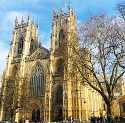 York Minster Cathedral In North Yorkshire